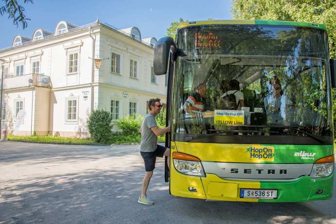 HOP On HOP Off bus in Salzburg