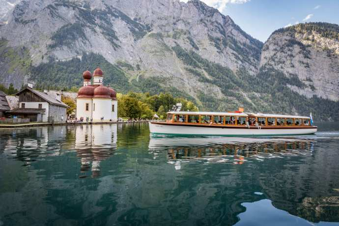 Boat at Lake Königssee