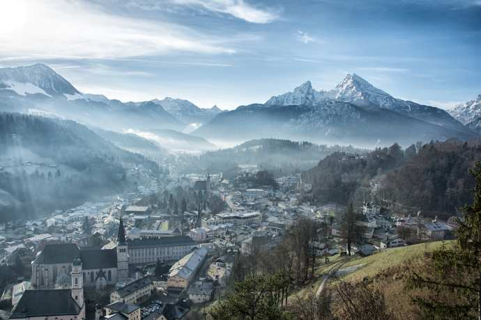 Berchtesgaden in Early Winter